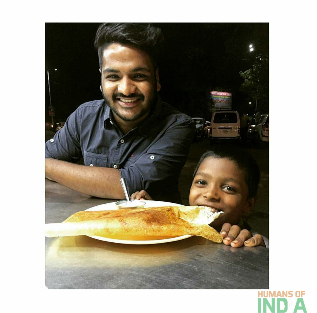 He bought him a Dosa