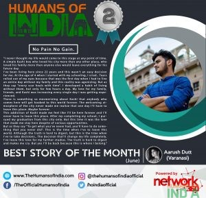 Best Story of the Month - June (1st Runner Up)