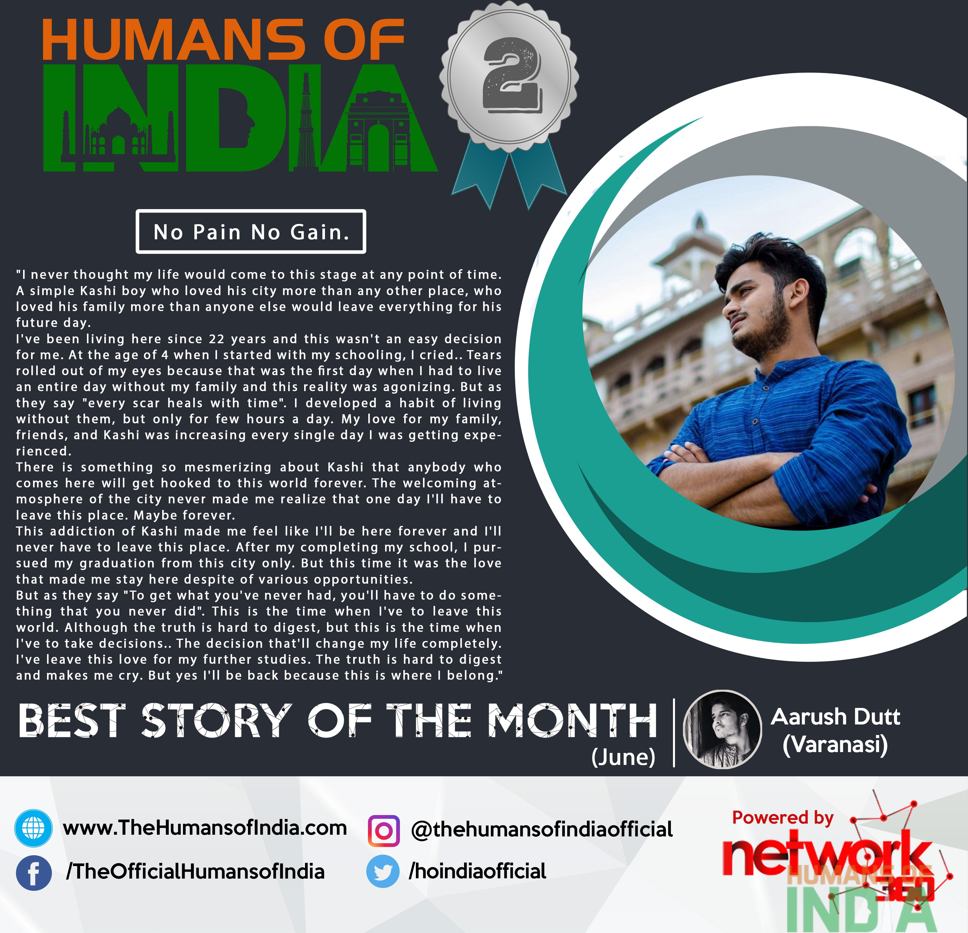 Best Story of the Month – June (1st Runner Up)