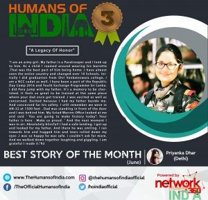 Best Story of the Month - June (2nd Runner Up)